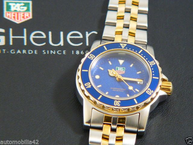 Superb TAG Heuer 1500 Submariner ladies watch Twotone with ...