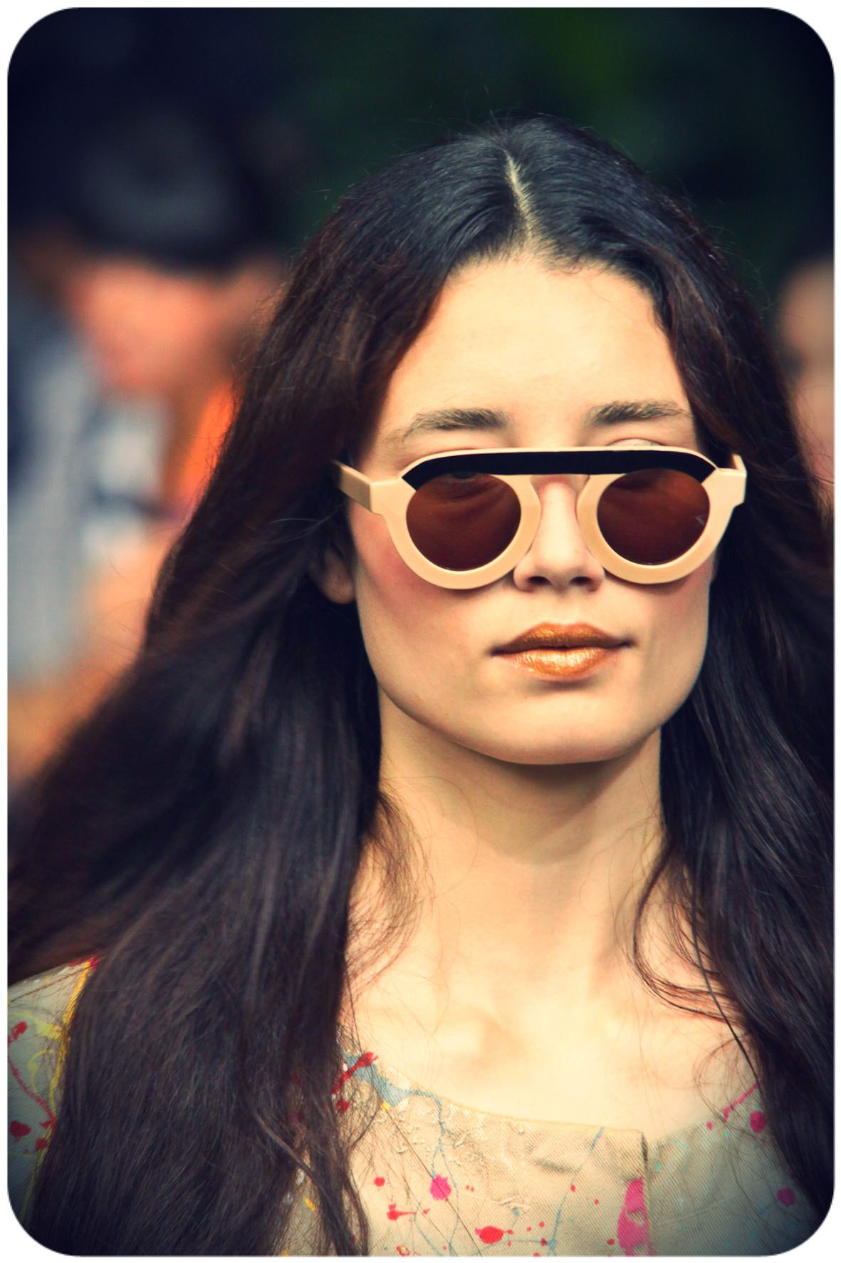 I don\'t know what brand this is but love it | Gafas | Pinterest