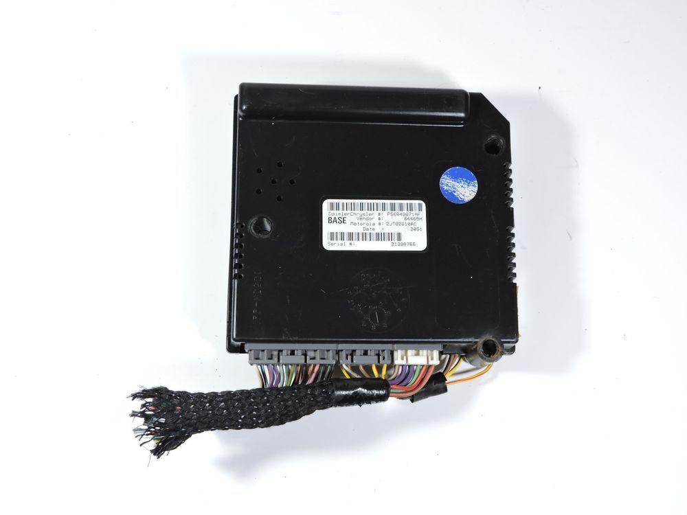 01 03 Dodge Dakota Central Timing Module P56049071af Ctm Alarm Bcm Unit Oem Dodge Game Boy Advance Sp Gaming Products Ebay