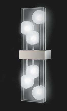 Applique 6 Lampes Design Grossmann Club Nickel Mat 51 663 063 Appliques Design Chez Luminaires Online Luminaire Idee Luminaire Applique Design