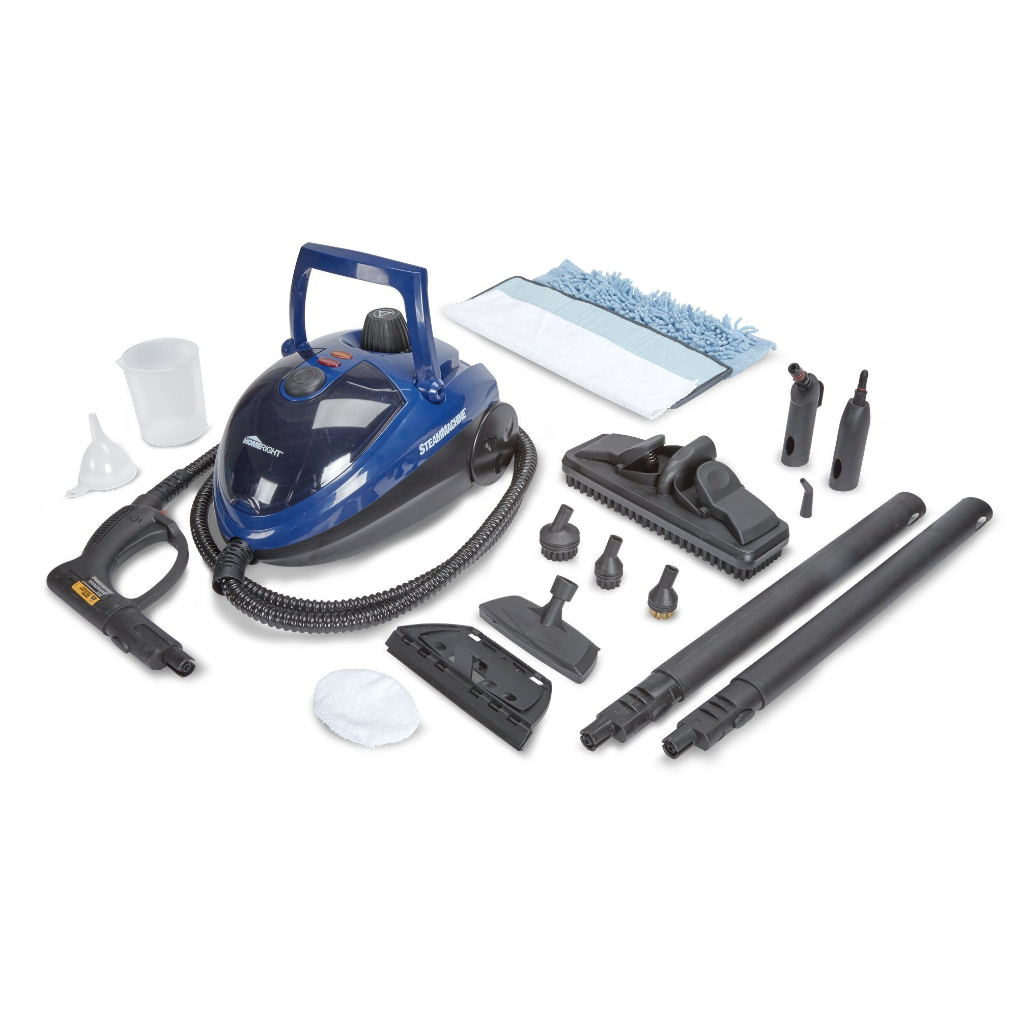 HomeRight SteamMachine C900053.M Blue Multi-Purpose Steam Cleaner ...