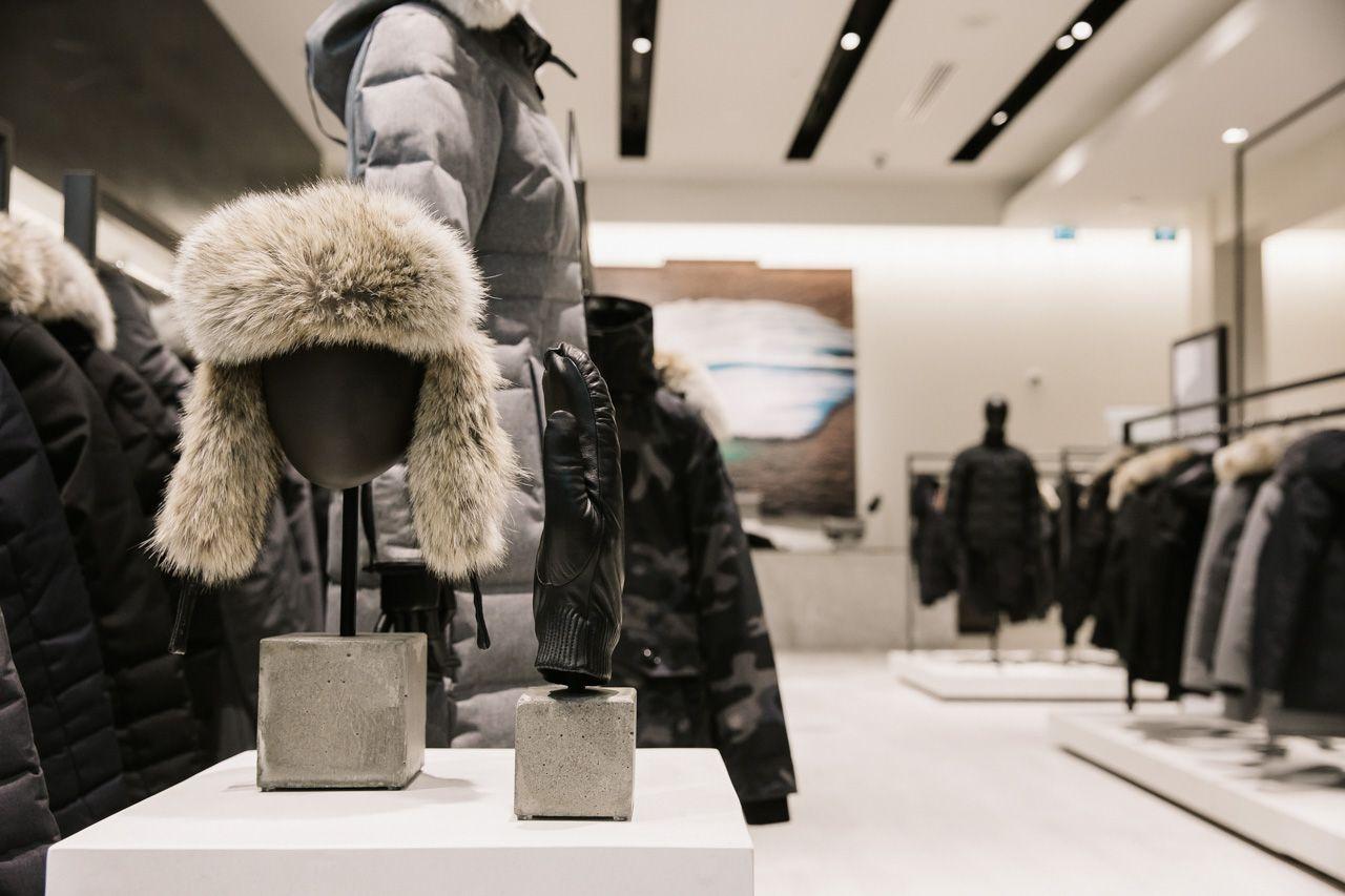 Canada Goose Global Flagship Ania B Canada Goose New York To Paris Fashion