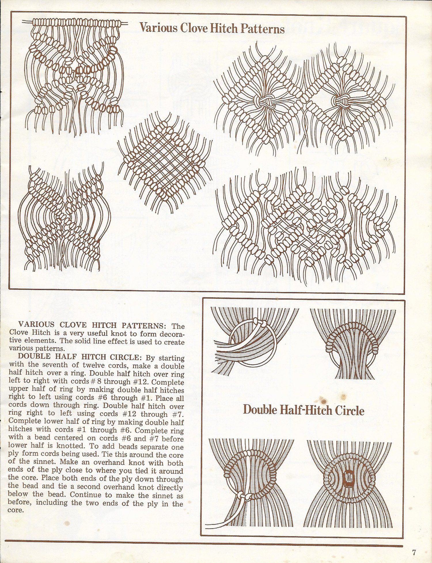A Primer Of Macrame Knots 1970s Macrame Reference Book Pdf