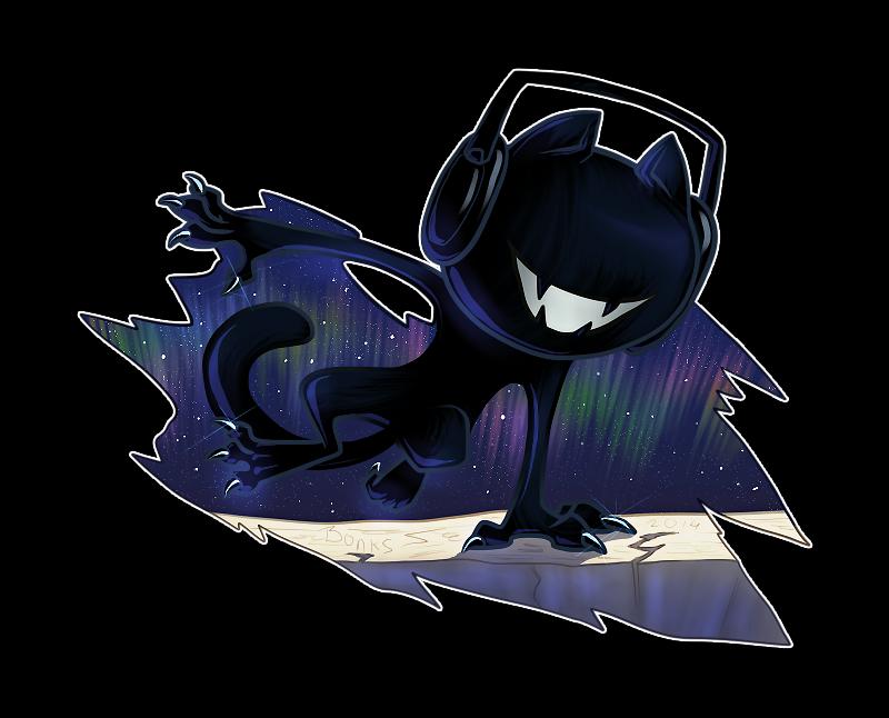 Monstercat By Deceptibonk On Deviantart Album Art Animal Drawings Anime
