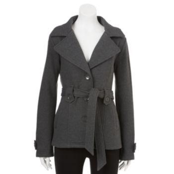Sebby Hooded Fleece Trench Coat - Women's $100
