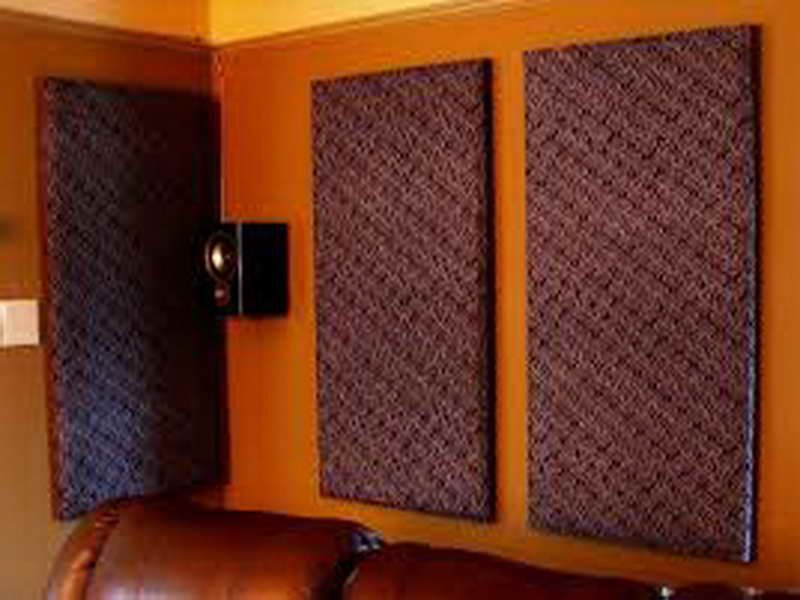 Illustration Of The Best Style Of Soundproofing Apartment Wall Acoustic Panels Diy Home Studio Music Soundproof Room