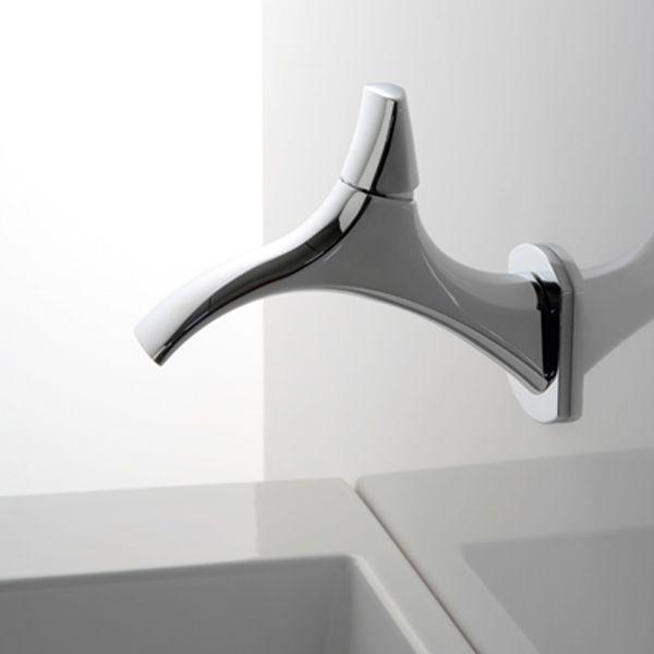 Envie d\u0027originalité et de délicatesse dans votre salle de bain - Mitigeur Mural Salle De Bain