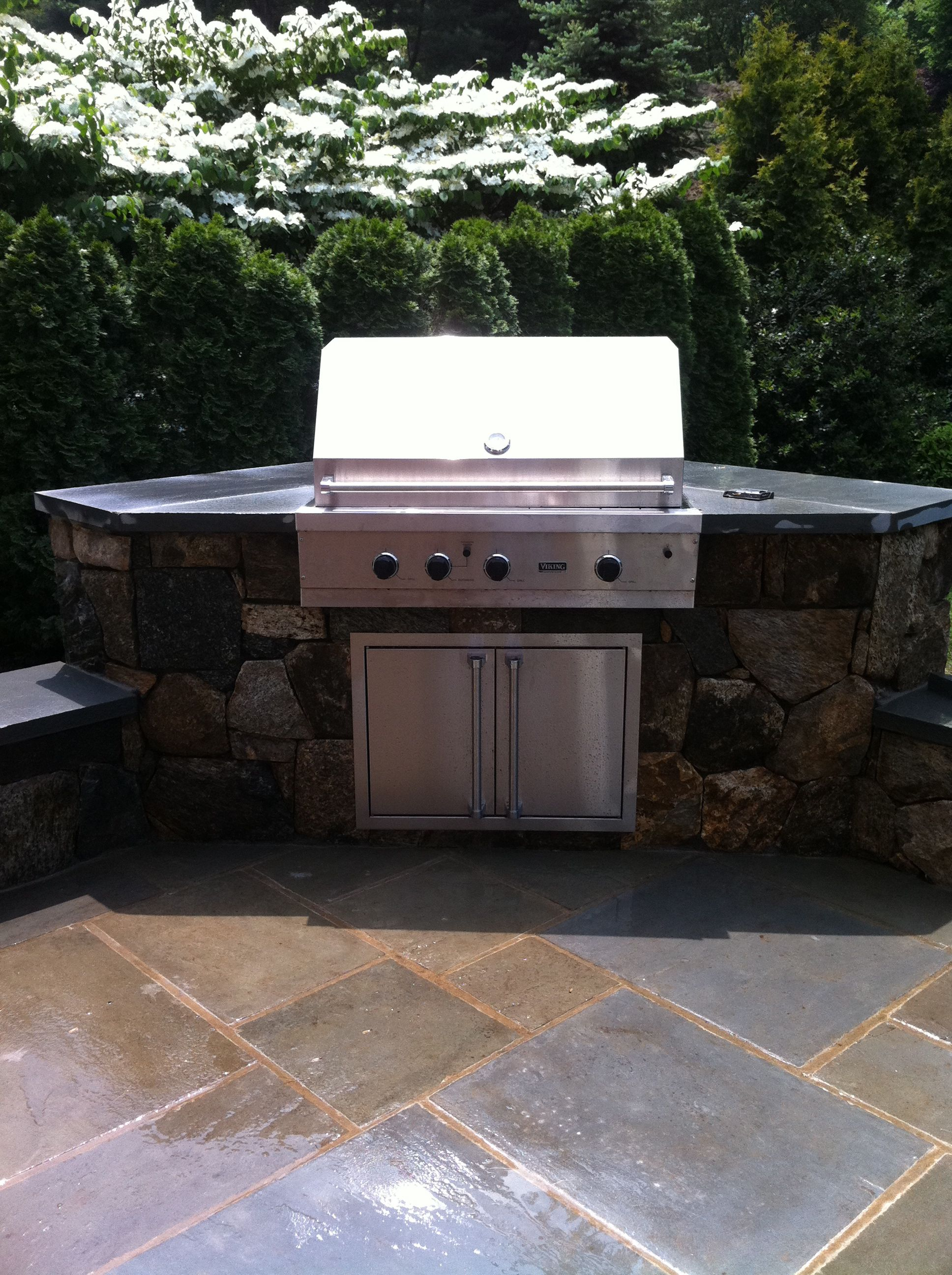 bbq napoleon cabinet grill odk pro cabinets in brown with kitchens