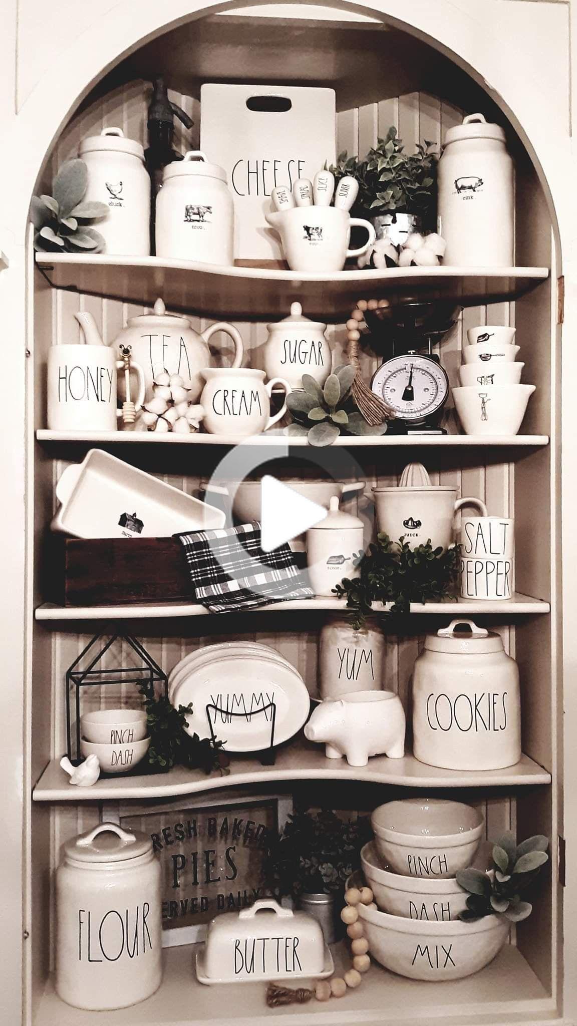 décor de cuisine des idées farmhouse décor de cuisine