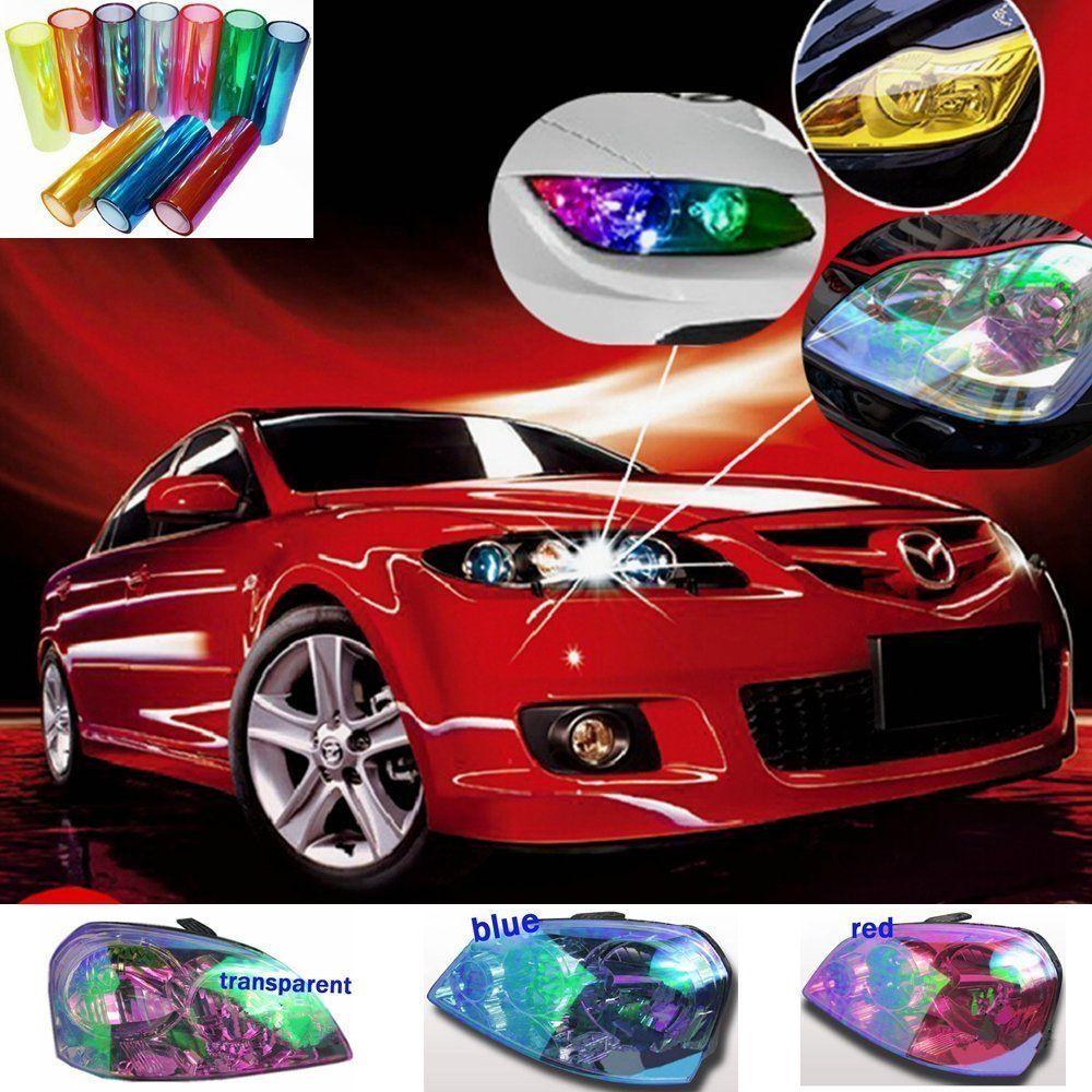 Amazon Com Dreamer Car 12 X 48 Car Auto Headlight Tint Color Change Film Stickers Self Adhesive Headlight Tail Lights Fog Lights Vinyl Film Sheet Ligh Tecno [ 1000 x 1000 Pixel ]