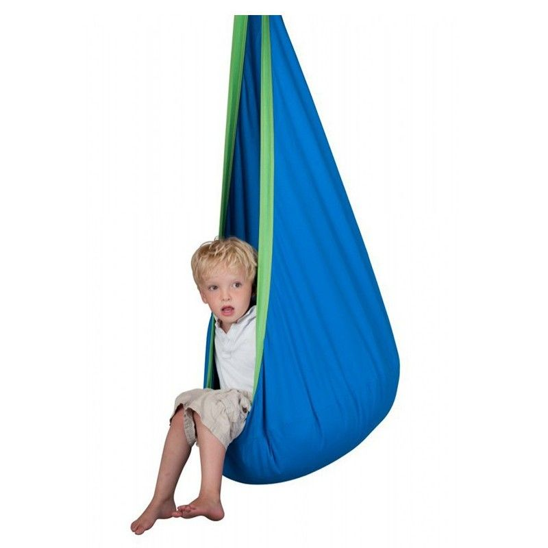 Kid Hammock Cocoon Baby Pod Swing Child Hanging Seat Chair Cotton Fabric Pvc Inflatable Cushion Garden Furniture Outdoor Hammock Affiliate