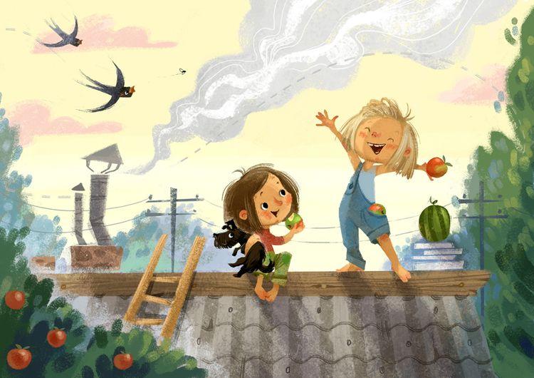 Приключения дети картинки