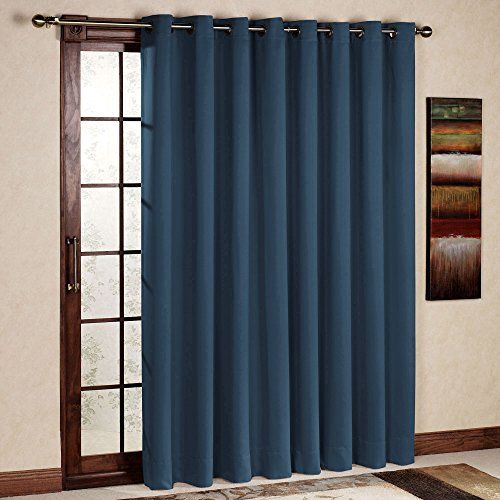 Rhf Wide Thermal Blackout Patio Door Curtain Panel Slidi Https