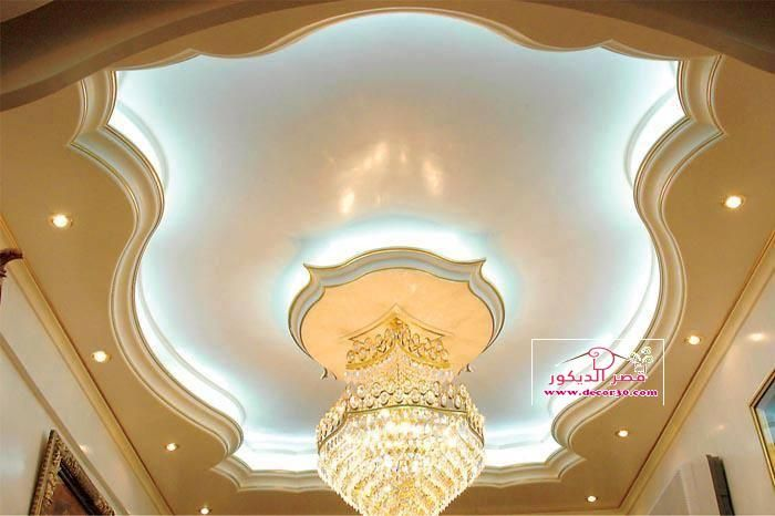 ديكورات جبس بورد للاسقف Decoration Gypsum Board Of Ceilings قصر الديكور Ceiling Design Gypsum Ceiling Design House Ceiling Design
