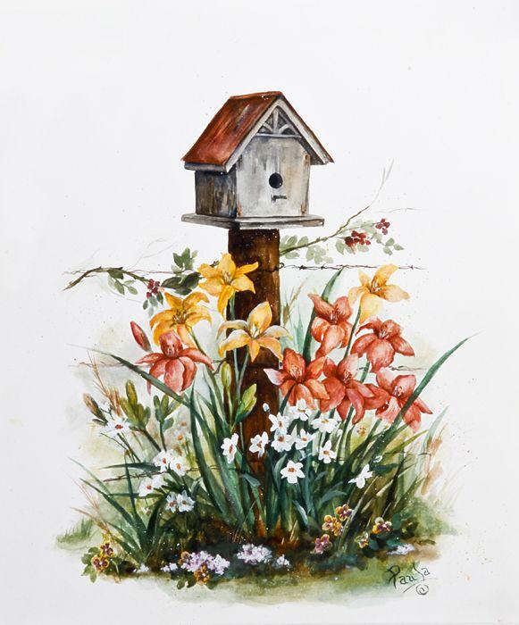 paula vaughan paintings original watercolor paintngs