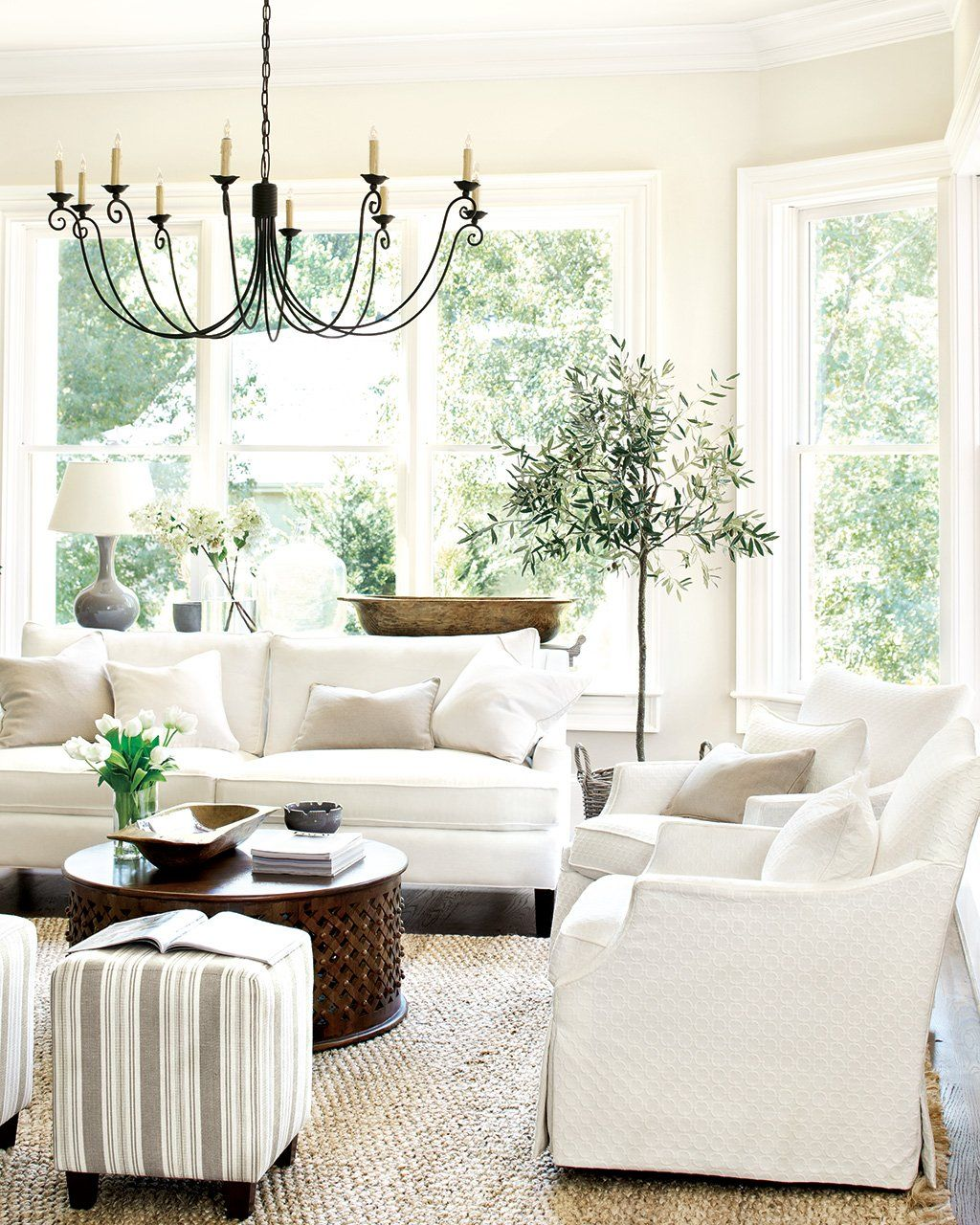 15 Ways to Layout Your Living Room | Gourd lamp, Gliders and Jute
