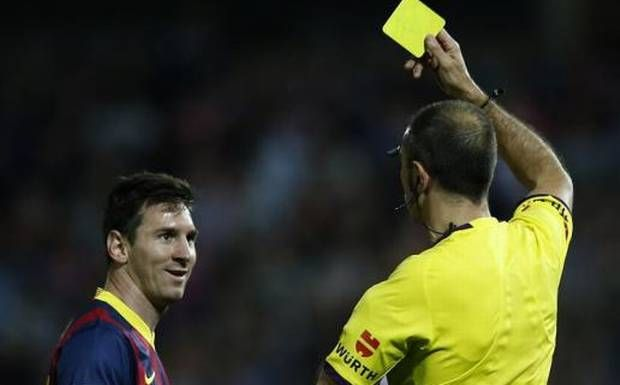 Barcelona Is Fighting To Lift Off Messi S Yellow Card Yellow Cards Leo Messi Barcelona