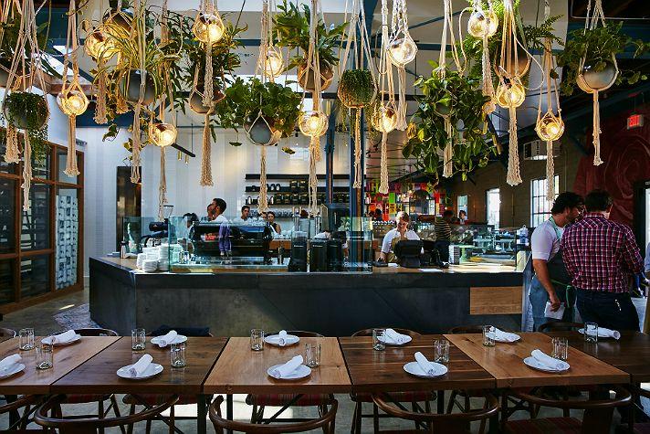 The Best Restaurants In Venice California Cafe Plants Cafe Restaurant Los Angeles Restaurants
