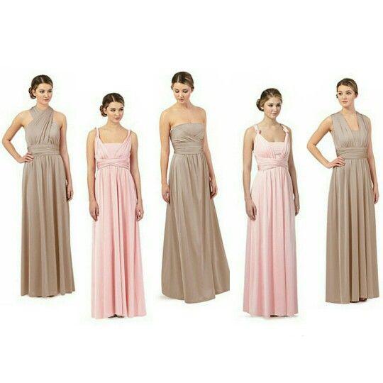 0137003549a7 Debenhams Debut Multiway bridesmaids dresses - my colour scheme ...