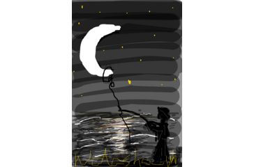 Fishing the moon didl by Natasha_No http://didlr.com/mJbKwi via didlr: http://pinterest.com/didlr