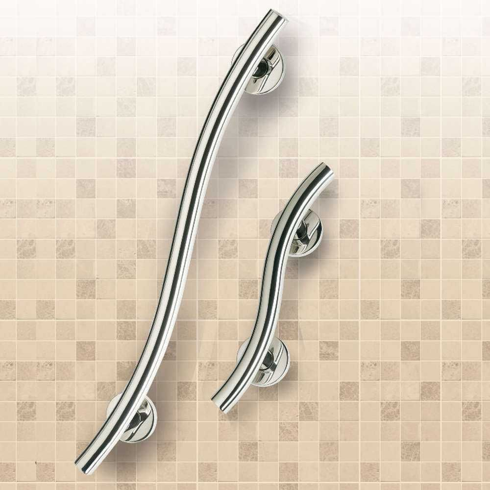 Spa Stainless Steel Curved Grab Rail M85565 and M52537 https://www ...