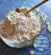 Gourmet White Hot Chocolate Mix