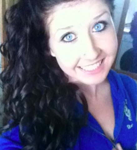 My hair for homecoming court <3 :)