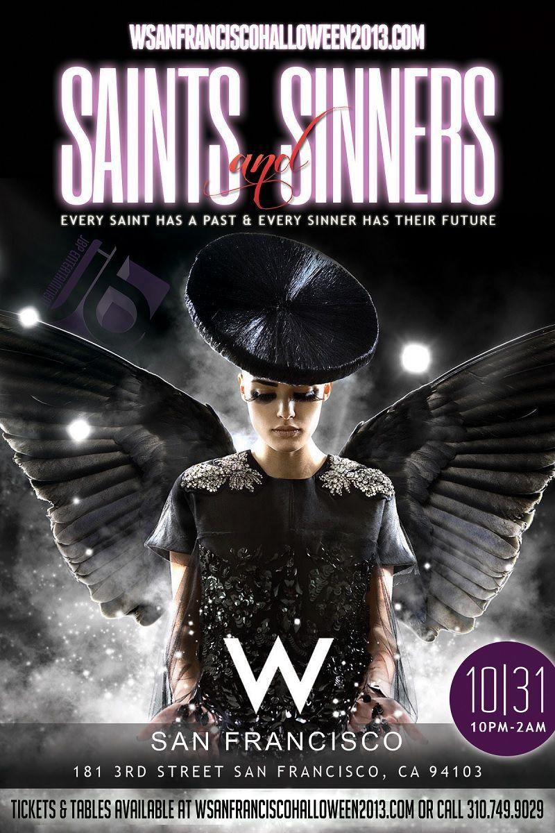 Saints & Sinners Halloween at the W San Francisco - www ...