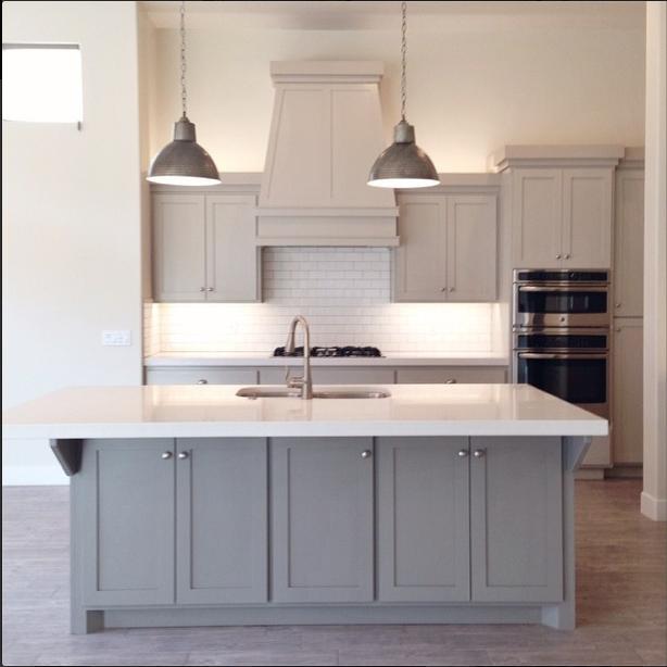 Benjamin Moore Revere Pewter Cabinets - Alice Lane Home | kitchen ...