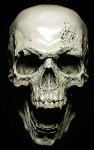 Creepy Halloween Skull Decoration: 7 Steps (with Pictures)