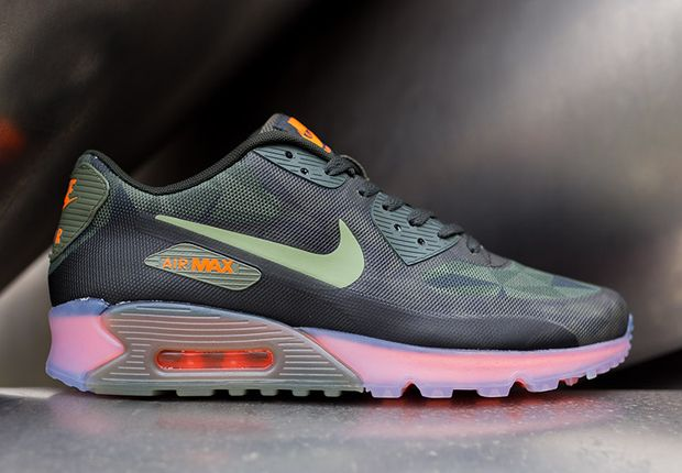 buy online 1662c 820f0 Nike Air Max 90 ICE Dark Green