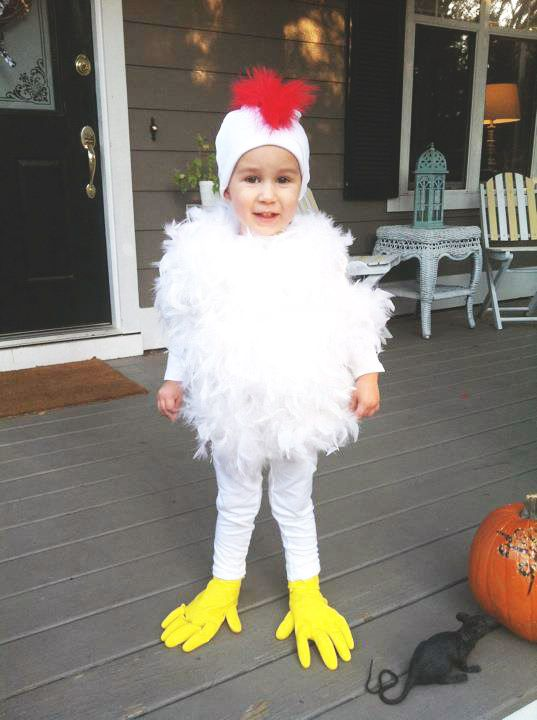 adorable chicken costume - white tights white long sleeved tshirt white beanie red feathers white feather boas and yellow rubber gloves u003d too easy!!  sc 1 st  Pinterest & adorable chicken costume - white tights white long sleeved tshirt ...