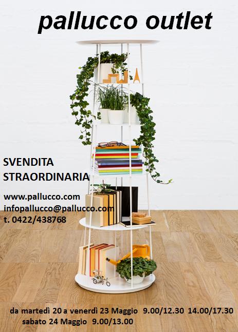 Vendita Straordinaria Pallucco outlet: 20-24 maggio 2014