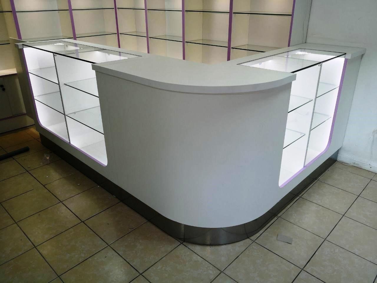 Muebles para locales comerciales tiendas negocios - Mostradores para oficinas ...