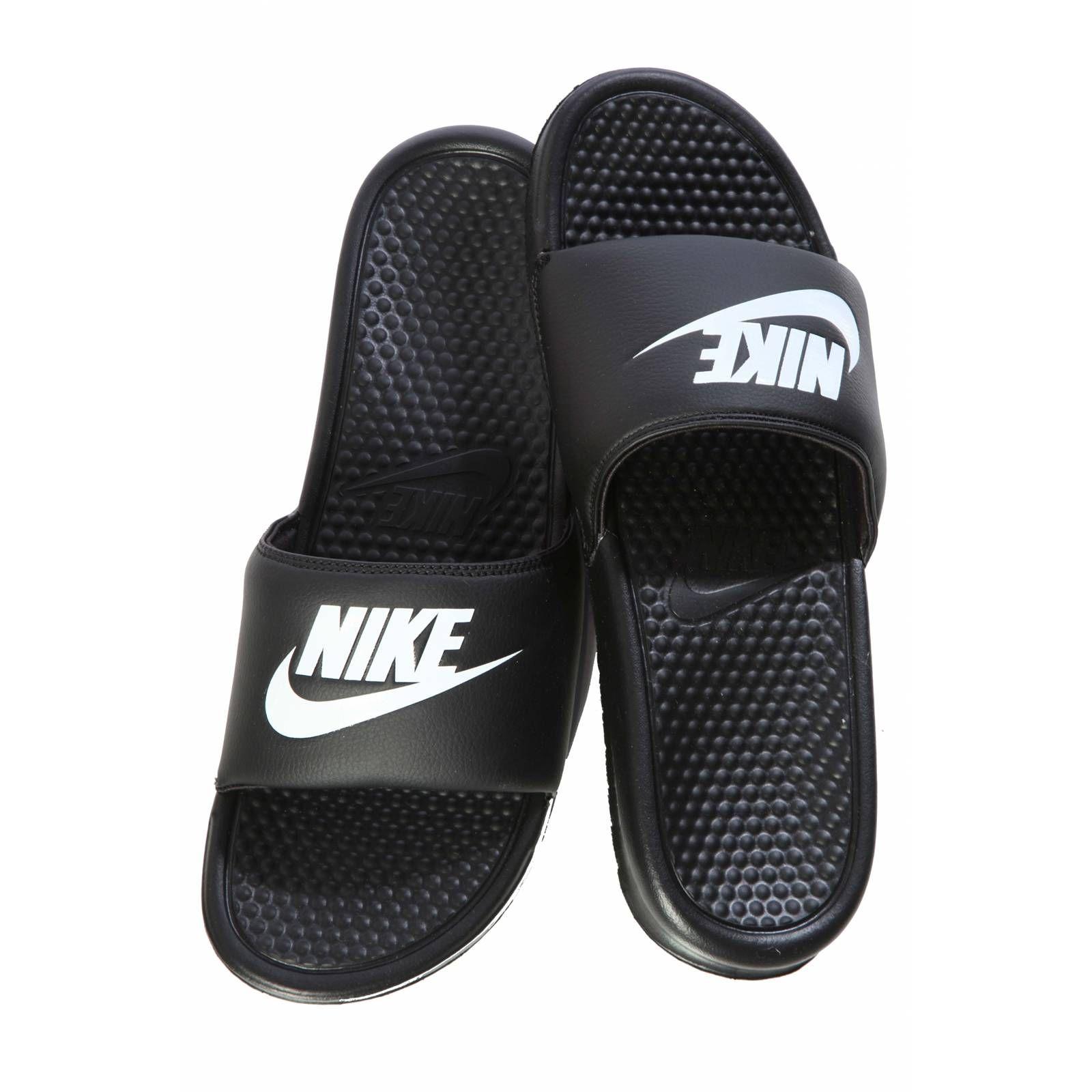Black sandals nike - Nike Flip Flops Google Search