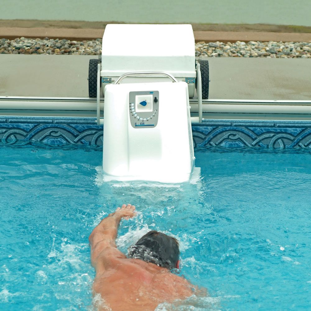 The Pool Treadmill - turn any pool in to an infinity pool!