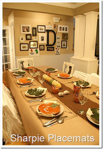 Thanksgiving Table Setting Ideas easy thanksgiving table setting ideas | thanksgiving table