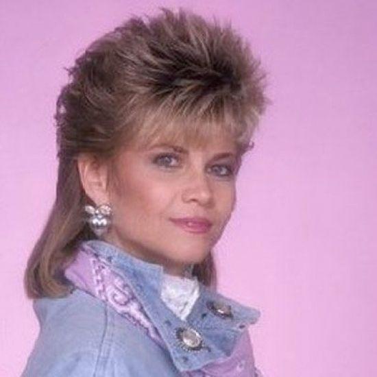 Markie Post Spiky Mullet 80s Hair Makeup Pinterest For Female Mullet Hairstyle Jpg 550 550 80s Hair Mullet Hairstyle 1980s Hair