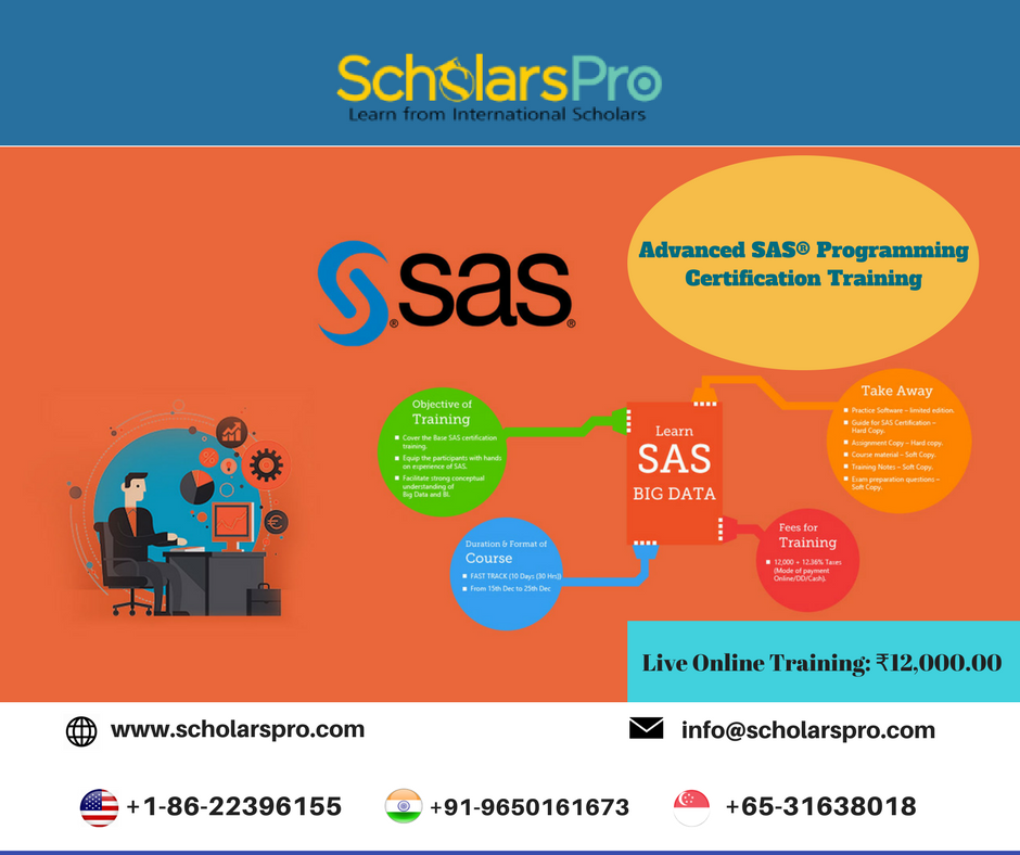 Pin By ScholarsPro On SAS Training By ScholarsPro