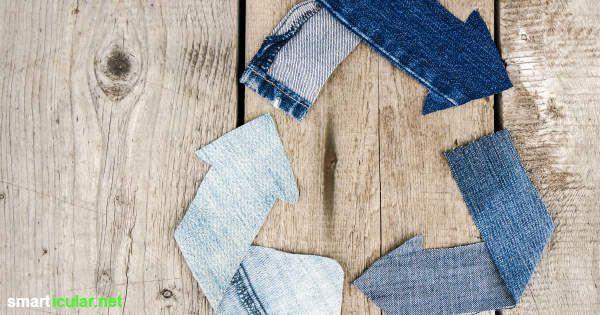 kaputte jeans nicht wegwerfen das alles kannst du daraus machen proyectos que intentar. Black Bedroom Furniture Sets. Home Design Ideas