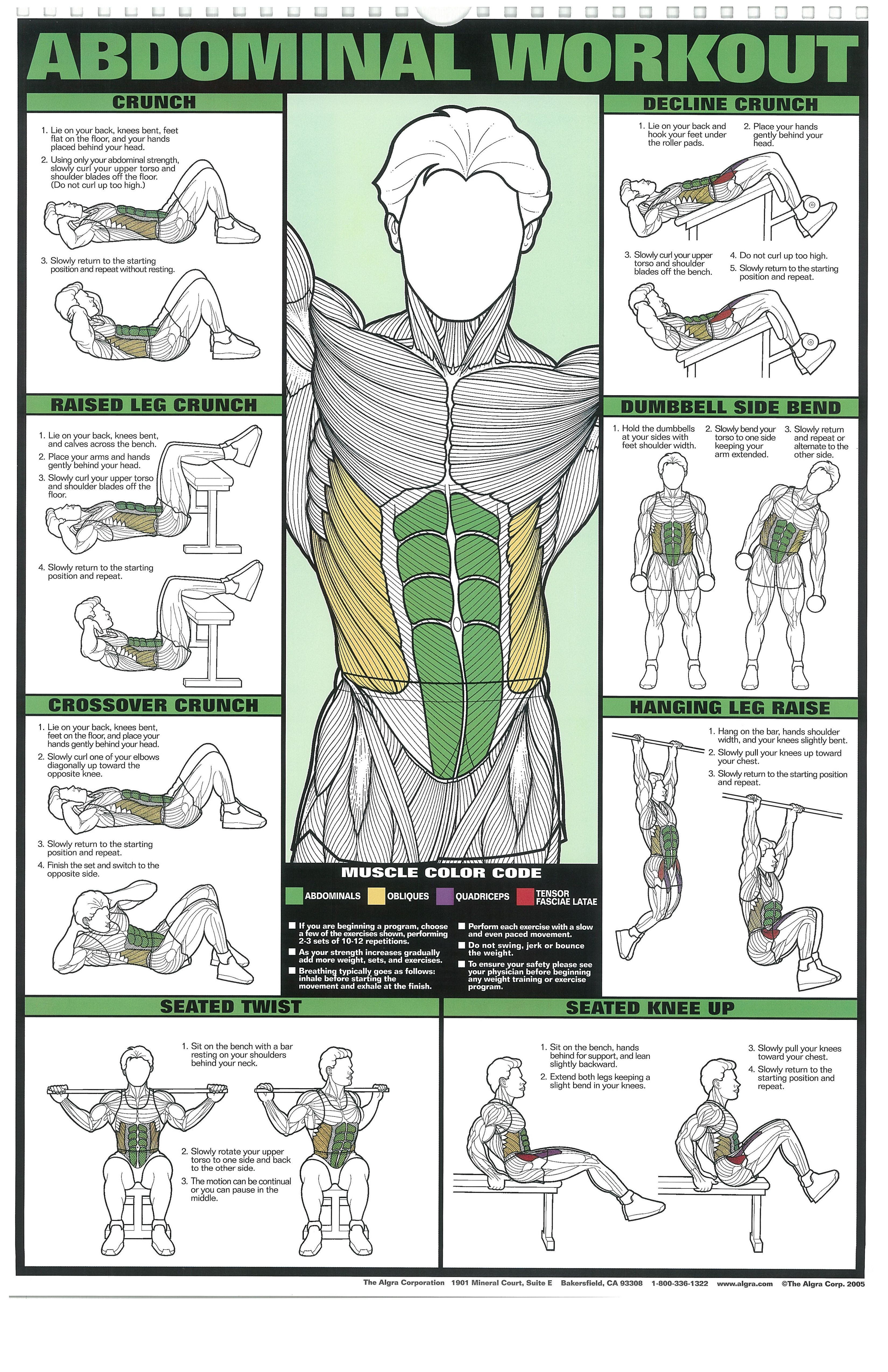 Fitness Posters You Can Read