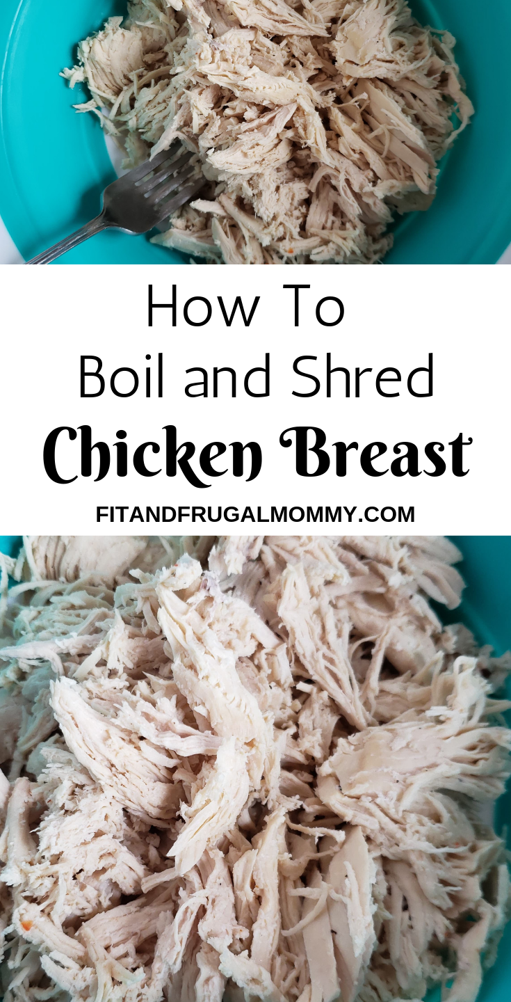 How to Boil and Shred Chicken Breast images