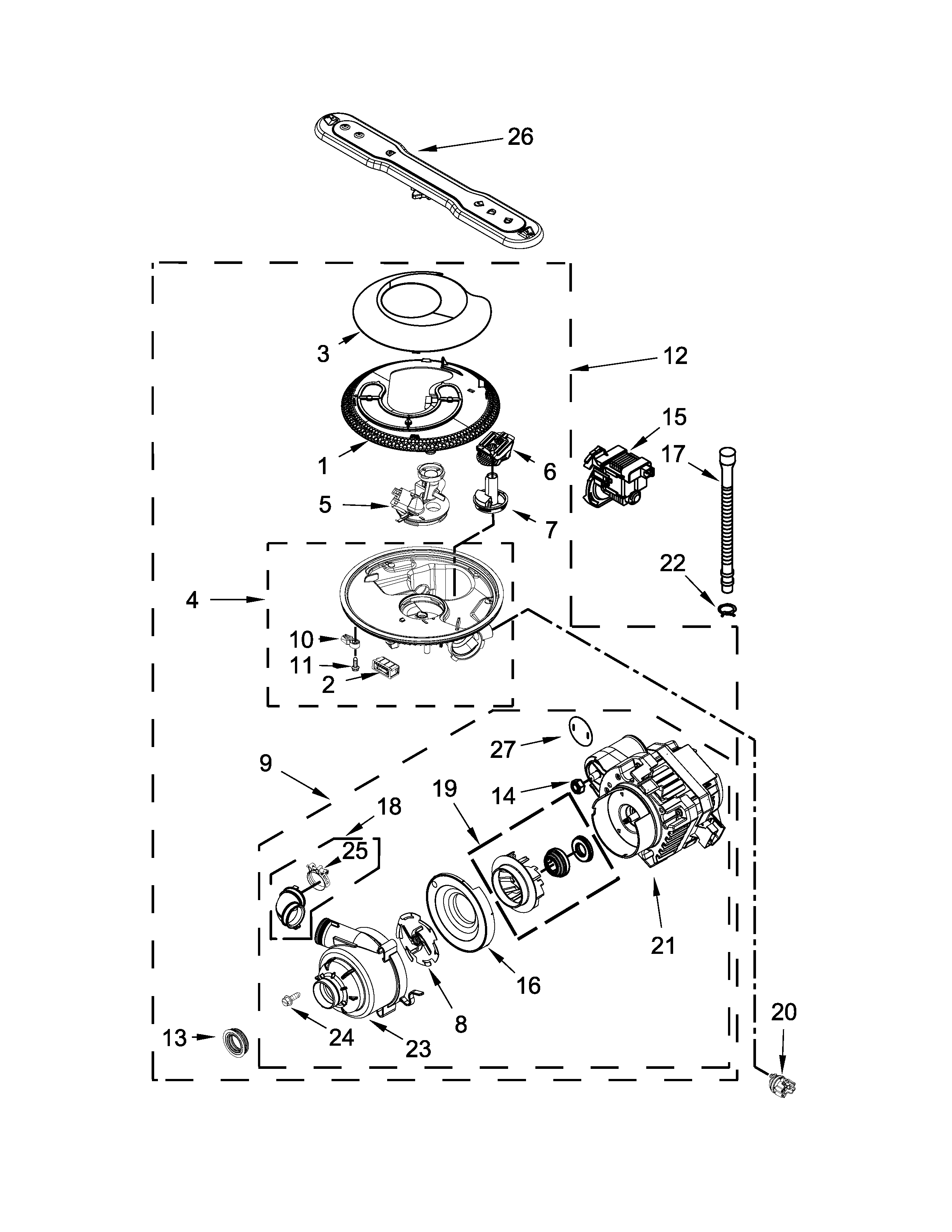 image result for diagrams for maytag dishwasher mdb4949sdm2 manual [ 2550 x 3300 Pixel ]