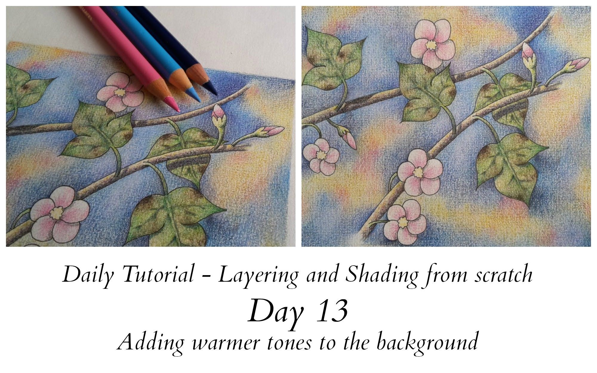 Pin By Michele Jones On How To Color Color Pencil Art Johanna