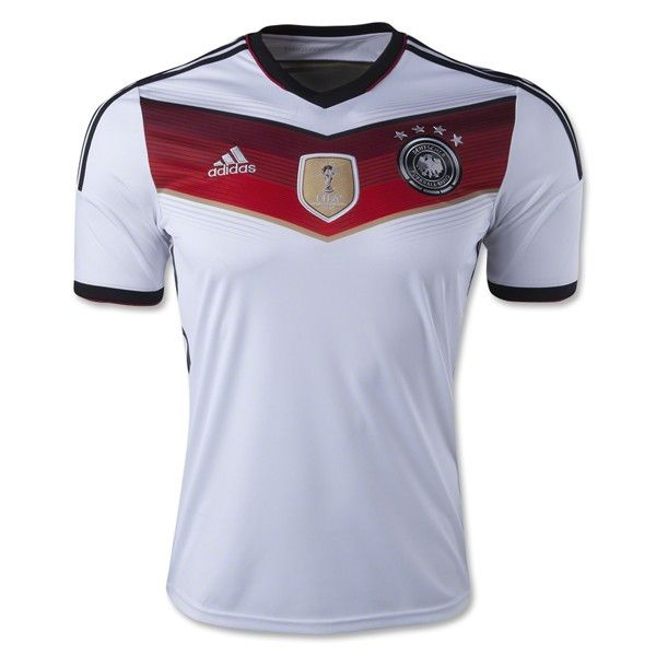 Adidas Germany 14 15 Home Soccer Jersey 4 Stars Germany Soccer Team World Soccer Shop Soccer Team Shirts