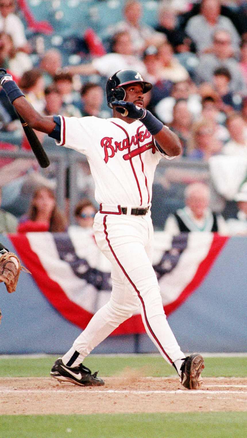 Fred Mcgriff Atlanta Braves Atlanta Braves Braves Braves Baseball