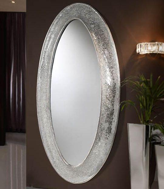 Espejos living sala decoraci n espacio muebles - Decorar muebles blancos ...