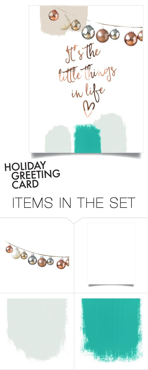 """""""it's the little things in life."""" by treandybb ❤ liked on Polyvore featuring art, holidaygreetingcard and PVStyleInsiders"""