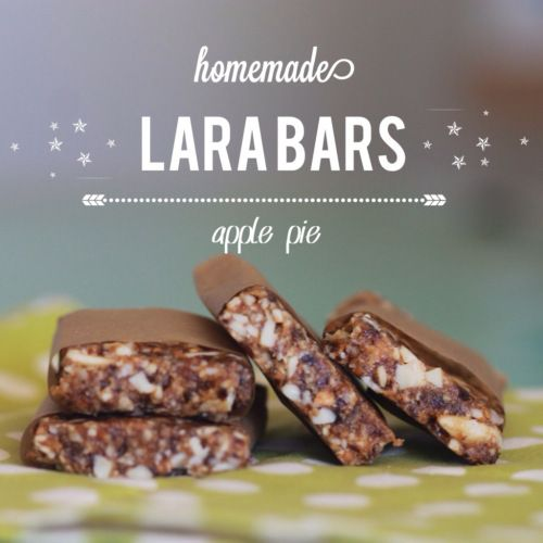 Homemade Larabars (Apple Pie) - Delicious... Quick... EASY... and save money!