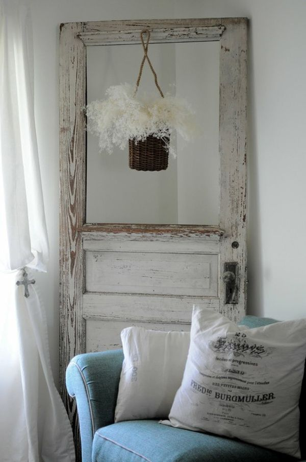 old doors as decoration | How To Use Old Doors In Home Decor ...